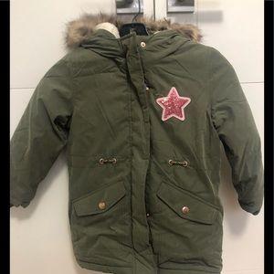 GEORGE/Girls/4-5/Army Green/NWT/Coat